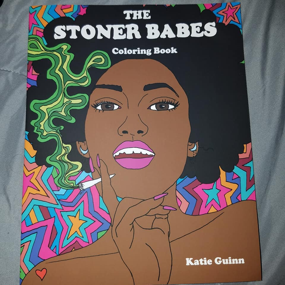 A COLORING BOOK FOR STONERS?! | The Stoner Babes Coloring Book