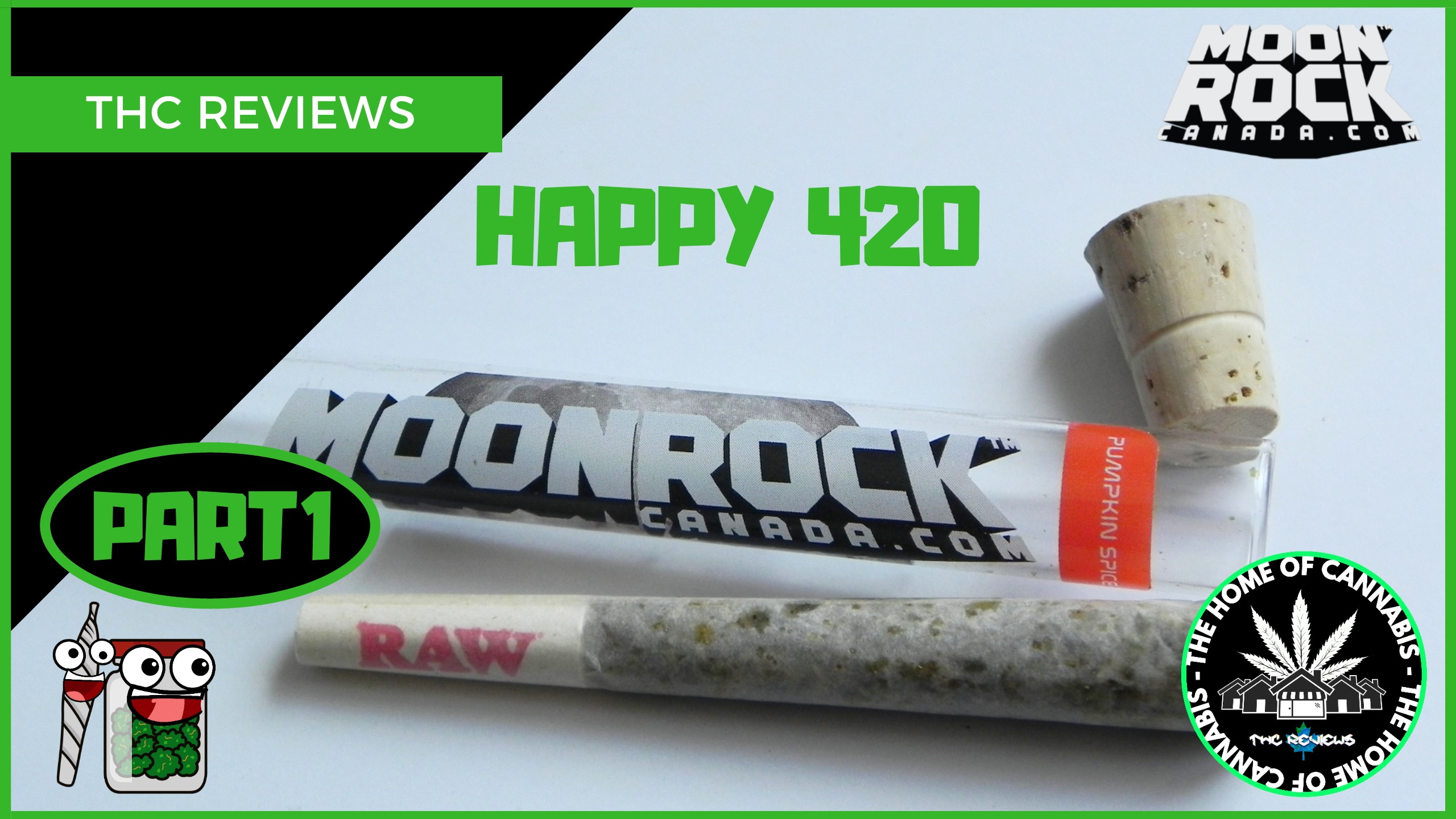 420 SPECIAL - Part 1: Moonrock Preroll Let's Smoke
