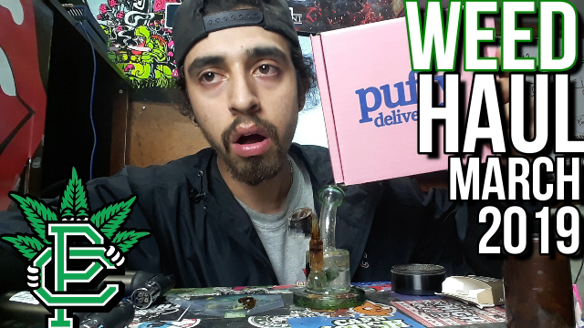 Unboxing Puffy Delivery - Weed Haul #1