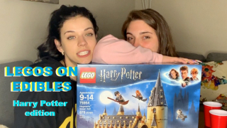 LEGOS ON EDIBLES | Harry Potter edition