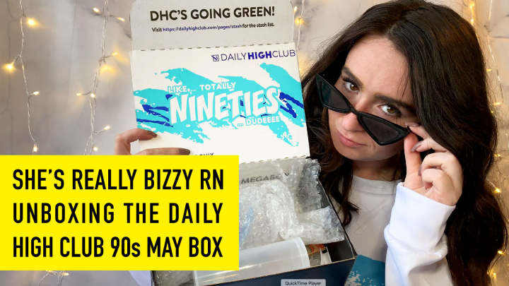 Totally Rad! Daily High Club May 90s Unboxing, Dude!