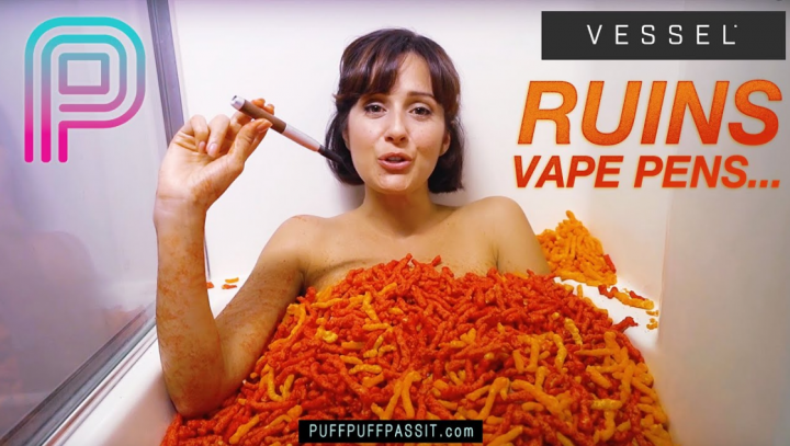 WE JUST RUINED ALL VAPE PENS! (Vessel Commercial)