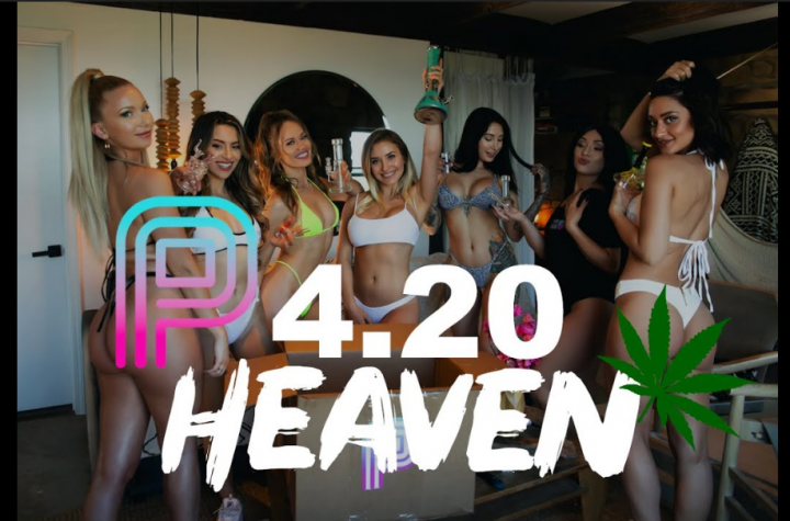 BEST 420 VIDEO 2019 - Model slumber party in Malibu!
