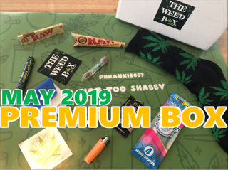 The Weed Box Premium Box May 2019 Unboxing