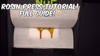 How To Make Cheap Dabs At Home With a Rosin Press!