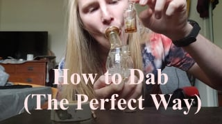 How to Take a Dab (The Perfect Way)