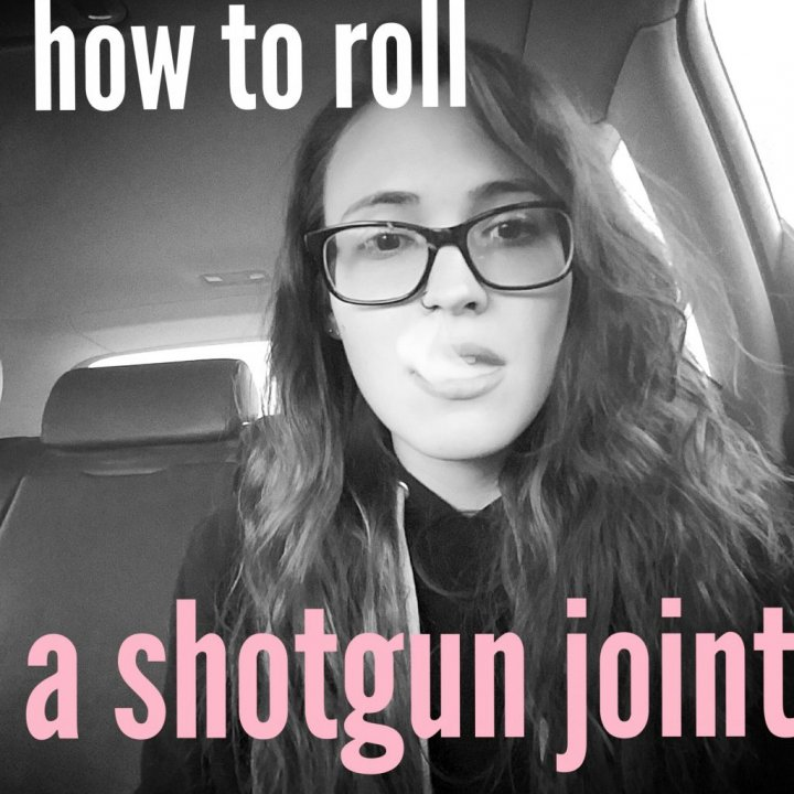 How to roll a shotgun joint