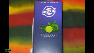 Moxie Vape Cartridge Review: Granddaddy Purple