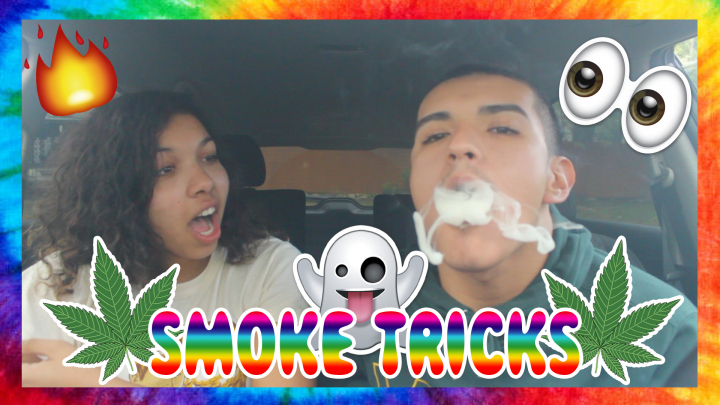 TRYING TO DO SMOKE TRICKS!?
