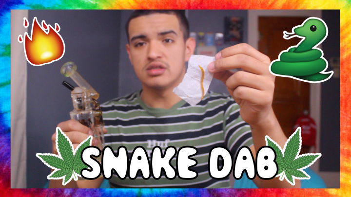MY FIRST SNAKE DAB!!!