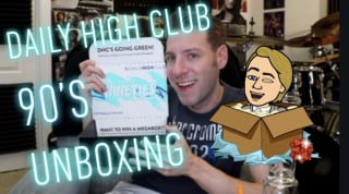 GoStoner Daily High Club 90s unboxing