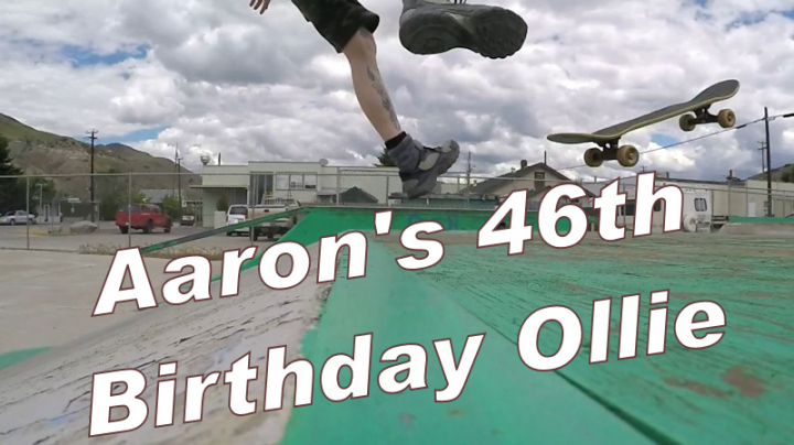 Aarons 46th Birthday Ollie
