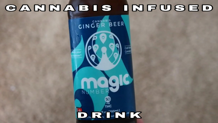 My First Time Trying A Cannabis-Infused Drink!