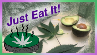 Eating Raw Cannabis Leaves 2 Ways | Oregon Experts