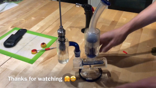 Rosin extraction & Dab