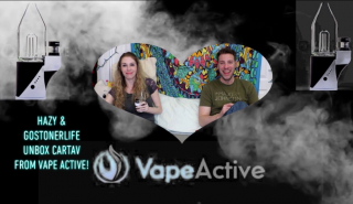Hazy Hula High Reviews the Focus V Cart from VapeActive with GoStoner