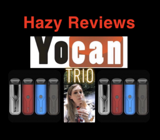 Hazy High Reviews the Trio from Yocan