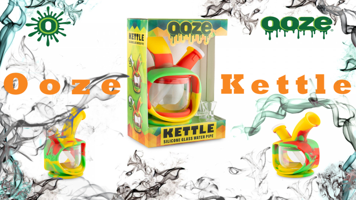 New Ooze Kettle Silicone Bubbler!