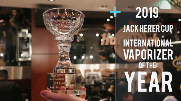 Got Vape takes over Jack Herer Cup Awards w/ Exxus Vape | Amsterdam 2019: Vlog 2