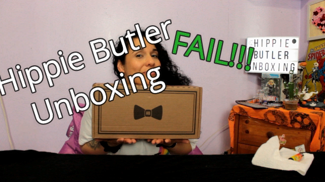 My First Hippie Butler (concentrate) Unboxing May 2019