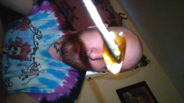 here I go taking a huge dab for y'all