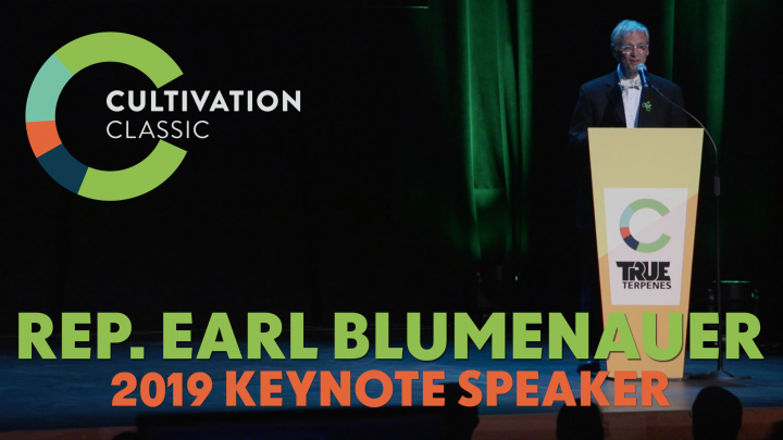 Rep. Earl Blumenauer 2019 Cultivation Classic Keynote