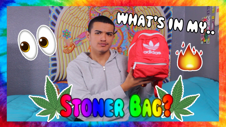 WHAT'S INSIDE MY STONER BAG?!?