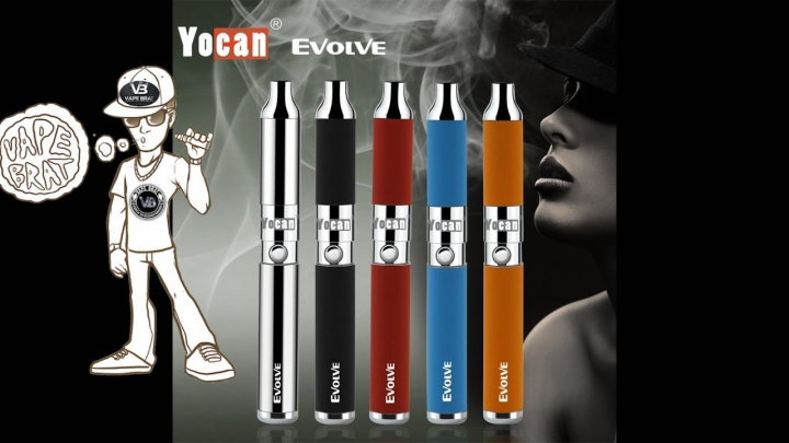 Yocan Evolve Wax Vape Pen unboxing, review, how to load, fill, charge, clean, use, change coil