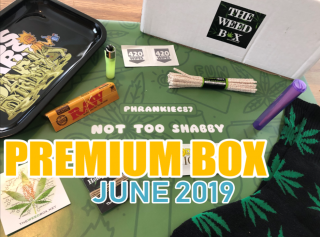 The Weed Box Premium Box June 2019 Unboxing