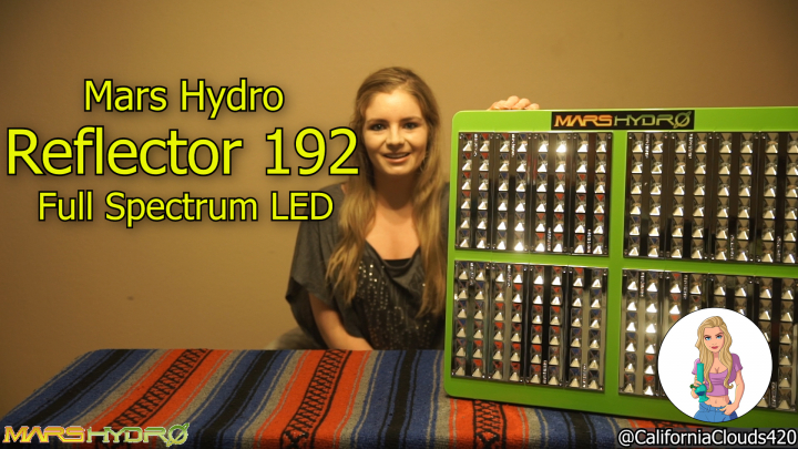 CAGrow: MONSTER SIZED LED! By Mars Hydro