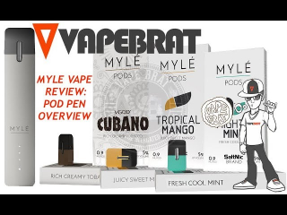 MYLE VAPE PEN: REVIEW, UNBOXING & HOW TO: REFILL POD, CHARGE