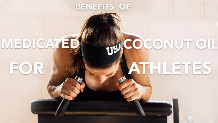 Medicated Coconut Oil For Athletes