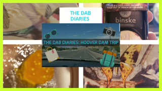 THE DAB DIARIES: HOOVER DAM LIVE RESIN REVIEW AND A TRIP TO THE REAL HOOVER DAM!!!!