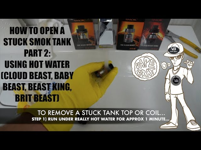 4 EASY WAYS TO OPEN, CHANGE STUCK TANK OR COIL