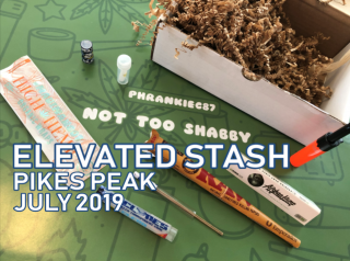 Elevated Stash Pikes Peak Box July 2019 Unboxing