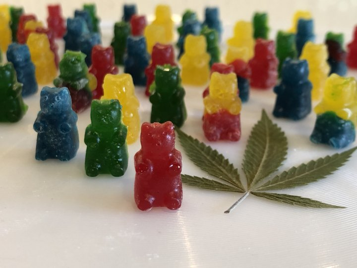 Cannabis Infused Gummy Bears
