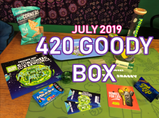 420 Goody Box Top Shelf June 2019 Unboxing