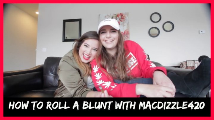 HOW TO ROLL A BLUNT W/ MACDIZZLE420
