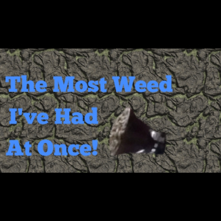 First Weedtube video! Smoking the rest of my weed!