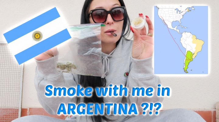 Smoke with me in ARGENTINA!!??