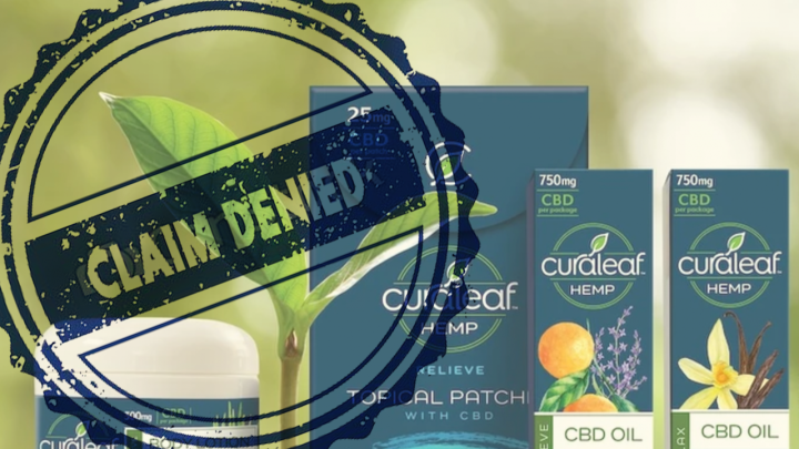 The FDA Issues a Letter To Curaleaf Warning it Violated the Food, Drug and Cosmetic Act