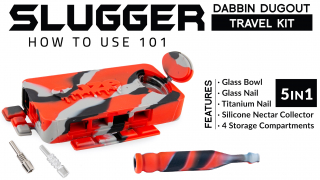 Slugger Dabbin Dugout Travel Kit 101: How to Use Instructions