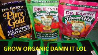 Dr Earth Dry Nutes Feeding Marijuana Plants In Veg and Flower