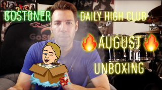 GoStoner August Daily High Club unboxing