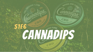 Cannadips CBD pouches review // The Green Lab