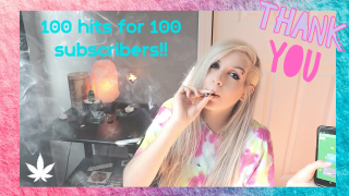 100 HITS OF WEED FOR 100 SUBS (CHALLENGE)