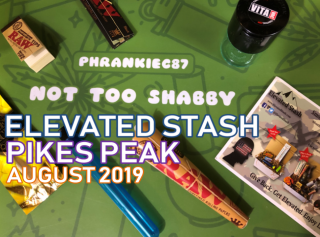 Elevated Stash Pikes Peak Box August 2019 Unboxing