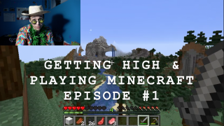 Getting High & Playing Minecraft (Episode #1)