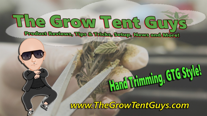 Hand Trimming, GTG Style!
