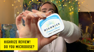 Review! Microdosing w/ HighRize Joints (Special Guest!)
